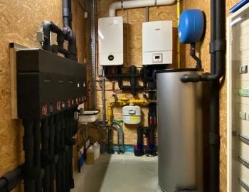 Wij verwarmen en koelen met een Bosch Compress 6000